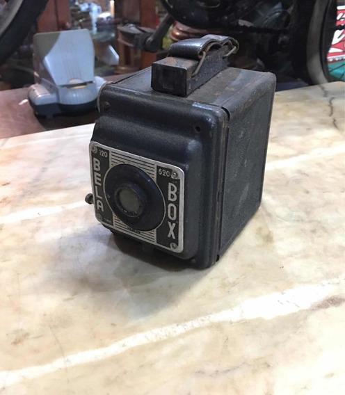 Câmera Fotográfica Bela Box Antiga Foto Analógica Maquina917