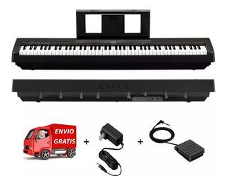 Piano Digital Teclado Yamaha P45 88 Teclas + Fuente +envio