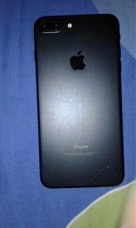 iPhone 7plus Preto Matte 128gb