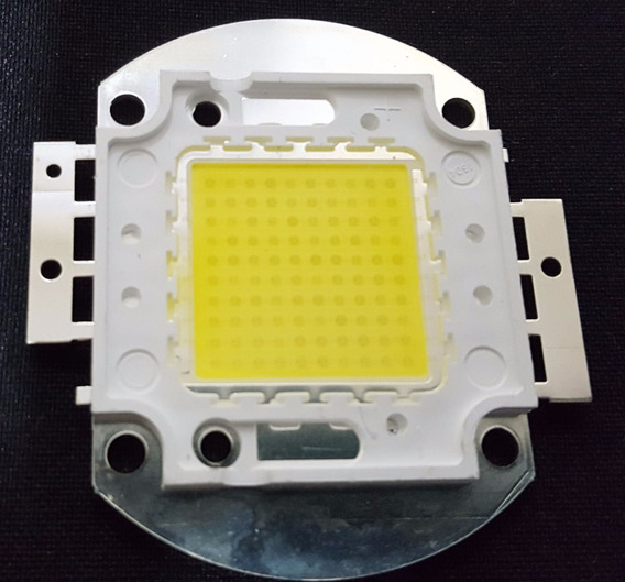 Chip Super Led 100w P/ Refletor Branco Frio - 6000- 6500k