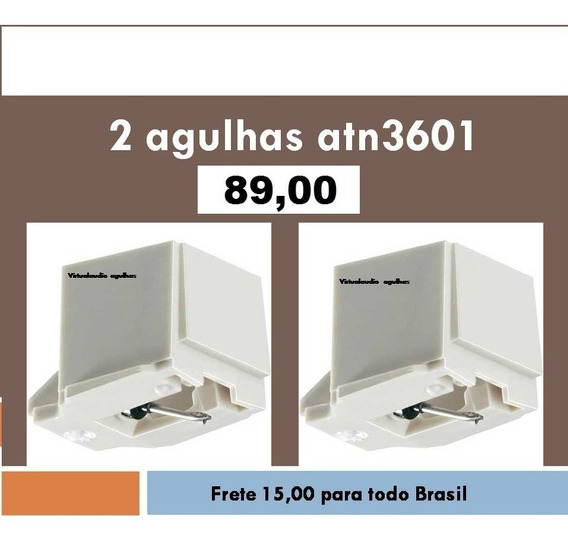 2 Agulhas Atn3601 Atn3600 Aiwa Gradiente Sony Pioneer