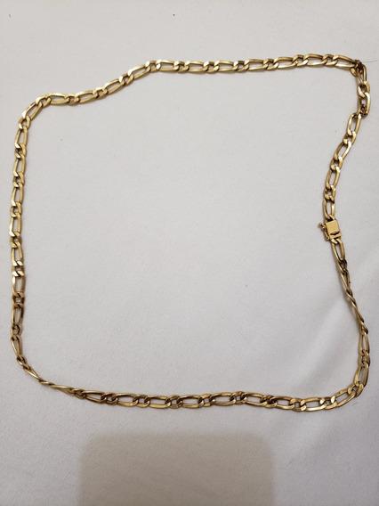 Corrente De Ouro 18k Masculina, 60cm, 14,3g, Garantia Eterna