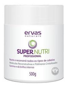 Mascara Hidratação Cabelos Super Nutri Ervas Naturais 500g