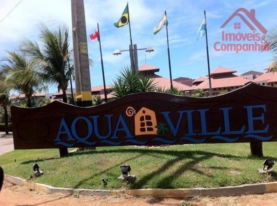 Aquaville Resort Porto Das Dunas Nascente Térreo, Porto Das Dunas, Aquiraz,ceará, 3 Suítes, Sala E Varanda ! - Ap0713