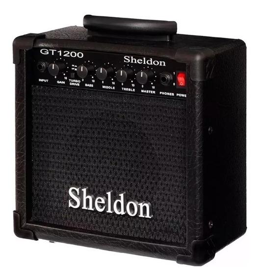 Amplificador Guitarra Sheldon Gt 1200 15w + Drive + Nf