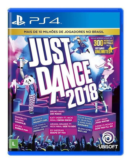 Just Dance 2018 - Ps4 Midia Fisica Original