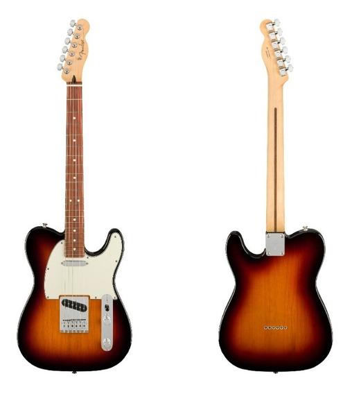 Guitarra Eléct Fender Player Telecaster 22 Trastes Pf Cuotas