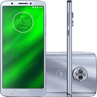 Motorola Moto G6 Plus Xt1926 64/3gb Dual 12mp Azul Vitrine 2