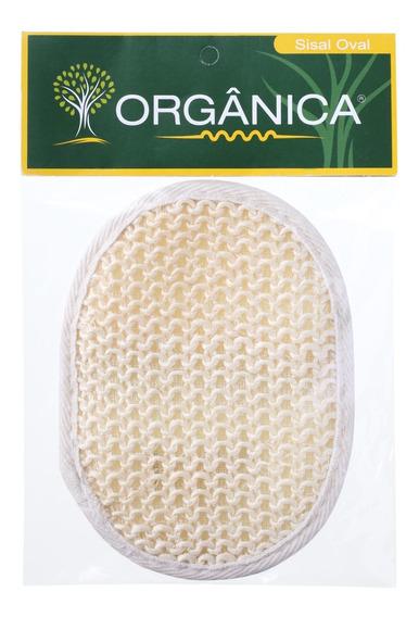 Orgânica Sisal Oval - Esponja De Banho Blz