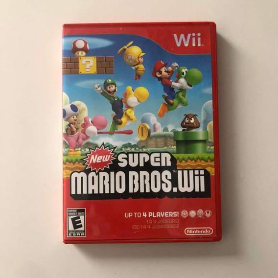 New Super Mario Bros.wii Mídia Física Original Nintendo