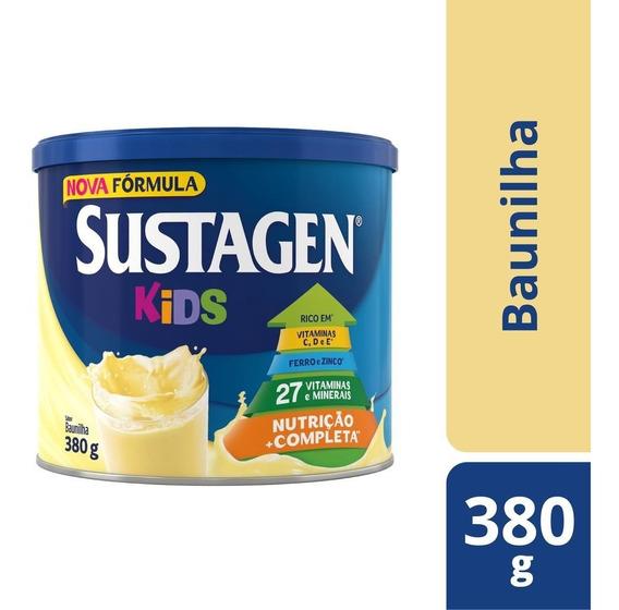 Sustagen Kids Nutrição Infantil 380g Baunilha