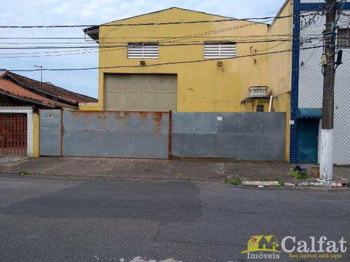 Galpão, Guilhermina, Praia Grande, Cod: 305 - A305