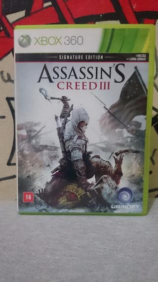 Assassins Creed Iii 3 Xbox 360 Ntsc Ou Pal-frete:r$10