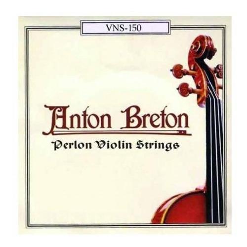 Set De Cuerdas Para Violín 4/4 Anton Breton Vns150