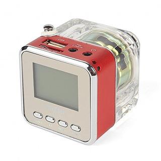 Altavoz Portatil Mini Digital Rojo