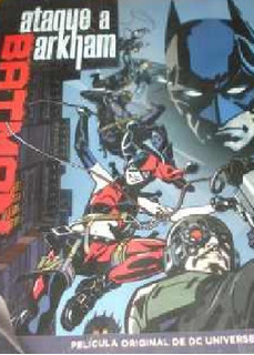 Cd Dvd Batman Ataque A Arkham Dc Comics Universe Wb 2014