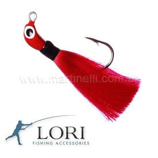 Isca Artificial Jig Lori M 12 G Cor: Vermelho Xuxinha