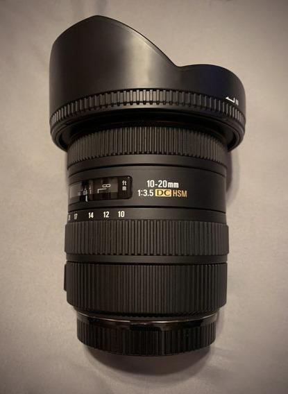 Sigma 10-20mm F/3.5 Ex Dc Hsm Canon Perfeita!