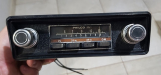 Rádio Philco Ford Corcel/belina 1 E Gt De 75/77 Funcionando