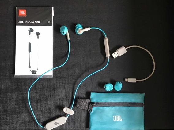 Fone De Ouvido Bluetooth Jbl Inspire 500 Para Academia