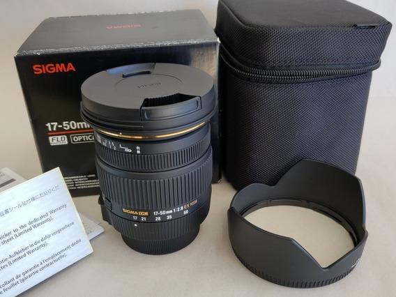 Lente Sigma 17-50mm F2.8 Ex Dc Os Para Nikon