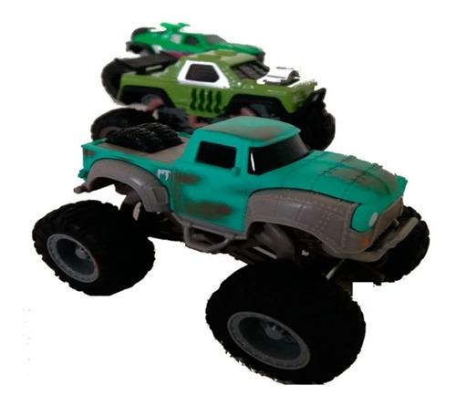 Monster Trucks - Mega Wheels 1:64 Pack X 3 - 56510