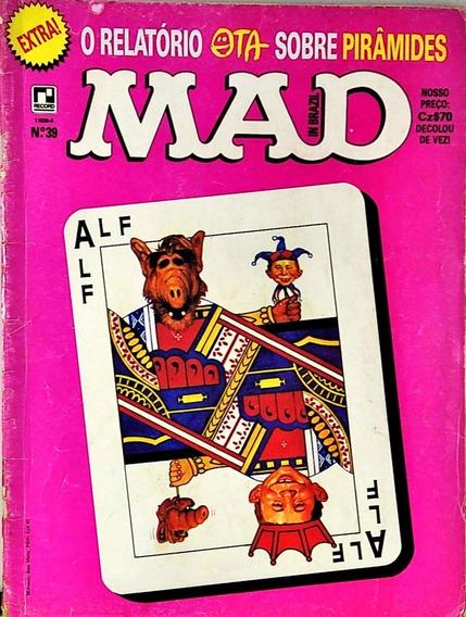 Revista Mad N. 39 O Relatório Sobre Pirâmides Março 1988