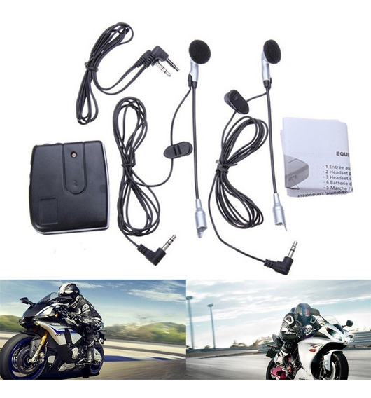 Intercomunicador Moto Capacete 2018 iPod Mp3 Piloto /garupa