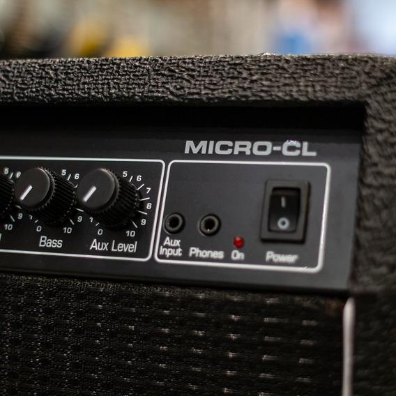 Cabeçote Ampeg Amplificador Micro Cl Mostruario + Nf!