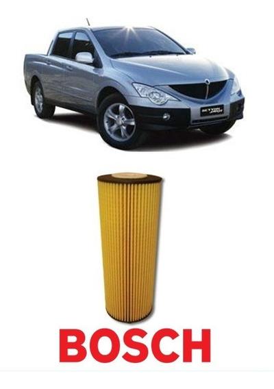 Filtro Oleo Lubrificante Ssangyong Actyon Kyron Rexton Bosch