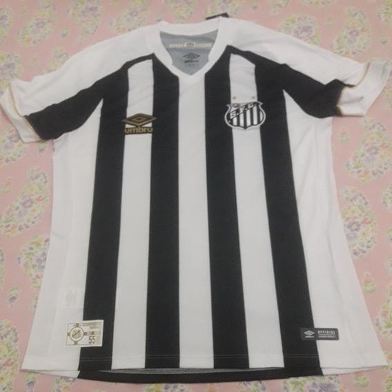 Camisa Santos Of Umbro Original 2018 Tamanho G(73x52cm)