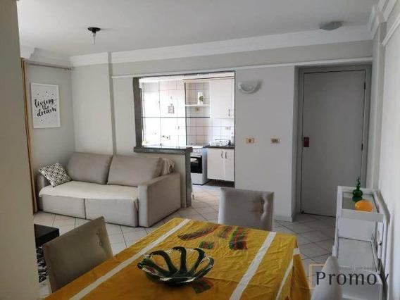 Alugo Apartamento Mobiliado No Jardins - Ap0999