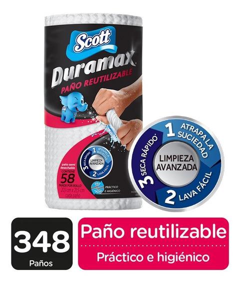 Scott Duramax 58 Paños Reutilizables Pack X 6 Rollos