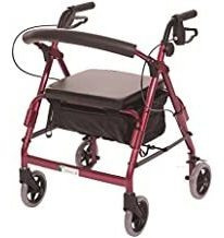 Essential Medical Supply Featherlight Demi Four Wheel Walker