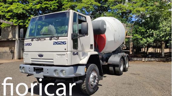 Ford Cargo 2626 6x4 2005/05 Betoneira 8mts³
