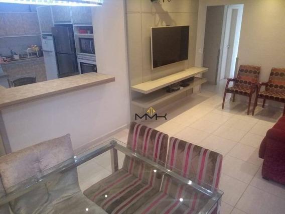 Apartamento Com 3 Dormitórios À Venda, 96 M² - Vila Belmiro - Santos/sp - Ap2029