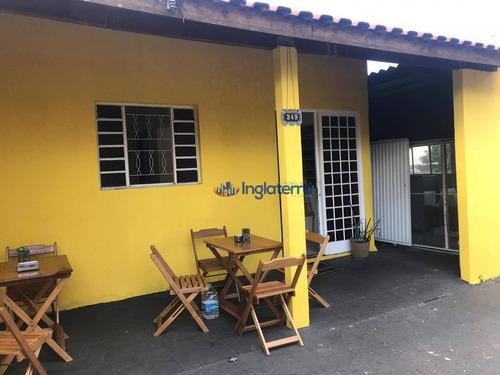 Imagem 1 de 12 de Casa Para Alugar, 80 M² Por R$ 990,00/mês - Jerumenha - Londrina/pr - Ca1410