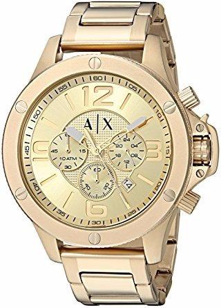 dd0c75966b8a Reloj Armani Exchange Dorado Ax1504 Para Caballero -   5
