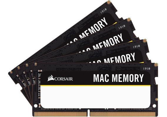 64gb 2666 (2x32) Kit Memoria Notebook Ddr4 Mac Corsair 3005