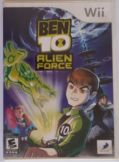 Ben 10 Alien Force Wii Mídia Física