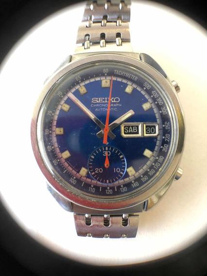 Relógio Seiko Cronógrafo 6139-6012 Pulseira Original