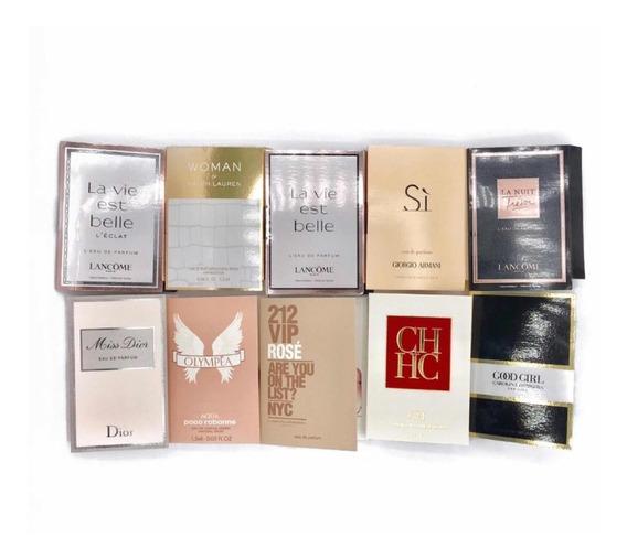 10 Amostras De Perfumes Importados Originais Á Escolha