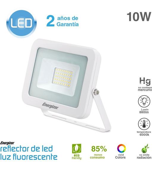 Reflector Led 10w 220v Blanco Bajo Consumo Exterior Oferta