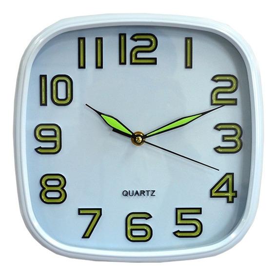 Relógio Parede Brilha No Escuro Silencioso Quartz In Yin