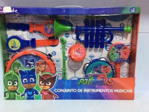 Pj Masks Conjuntobde Instrumentos Musicais