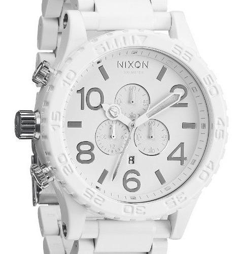 Nixon 51-30 A083-1255 Branco Original Mergulho300m Novo Raro