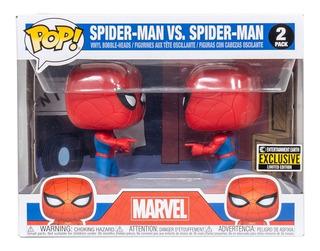 Funko Pop Spider-man Vs Spider-man Impostor Exclusivo 2-pack