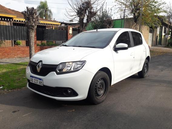 Renault Sandero Dinamique 1.6 2017 5p Manual Blanco Al Dia