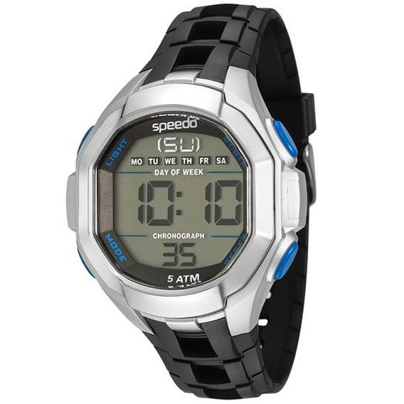 Relógio Speedo Masculino 81106g0eknp3, C/ Garantia E Nf