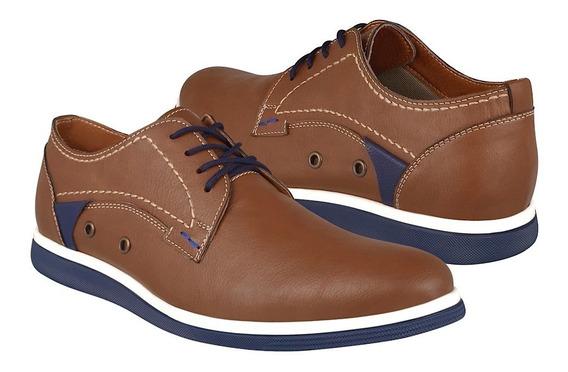 Zapatos Caballero Capa De Ozono 4014005-3 Simipiel Tan